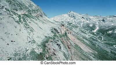 Aerial, Parco Naturale Del Gran Bosco Di Salbertrand, Italy...