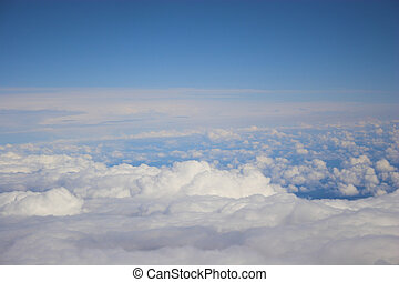 Aerial photo backgrounds - Aerial photos of clouds for...