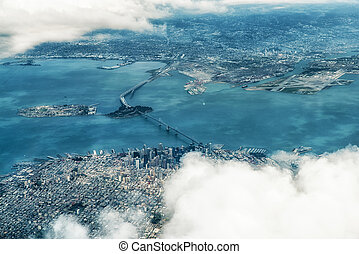 Aerial Photograph of San Francisco