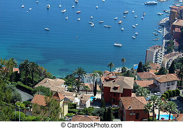 French Riviera - Aerial photograph of the French Riviera ...