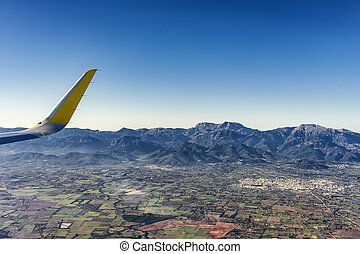 aerial photography of the mallorca north