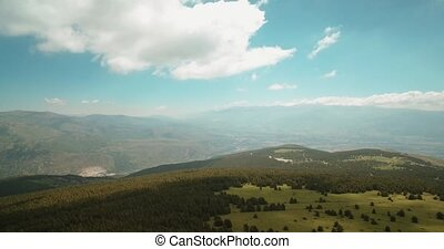 Aerial, Pyrenees Landscapes, Spain - graded Version - Graded...