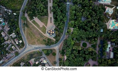 Aerial recording of Chernihiv cityscape - Unforgettable...