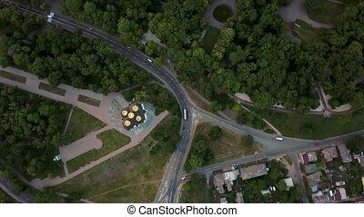Aerial recording of Chernihiv cityscape - Wonderful...
