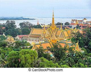 Phnom Penh in Cambodia