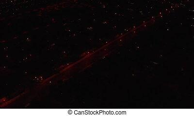 aerial shot of Las Vegas near strip daytime