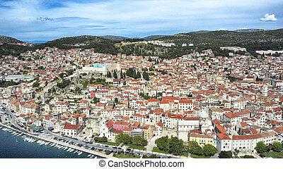Zadar, coastline, Croatia.
