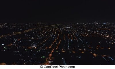 Surabaya capital city east java, indonesia - Aerial skyline...
