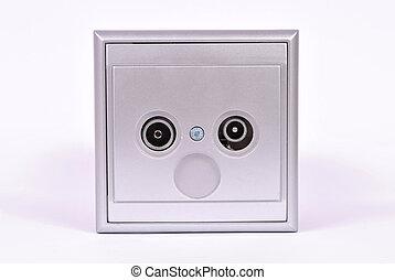 Aerial socket outlets