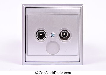 Aerial socket outlets - This is a aerial socket outlets for...