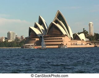 Aerial Sydney Opera House Building - Sydney Opera House...