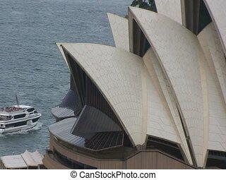 Aerial Sydney Opera House Building
