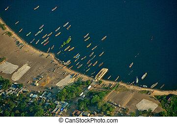 Aerial Tanzania