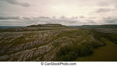 Aerial, The Burren, County Clare, Ireland - Graded Version -...