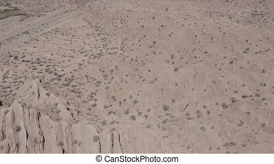 Aerial, Valle Encantado, Argentina - flat version - This...