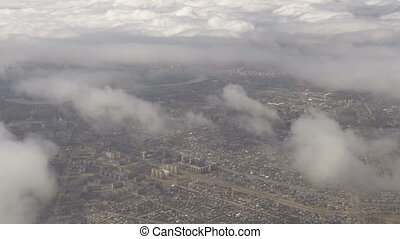 Aerial view Astana, Kazakhstan