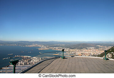 Aerial View - Bay of Gibraltar