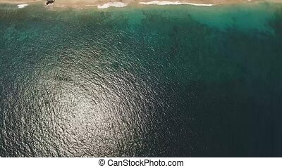Aerial view beautiful beach. Bali,Indonesia. - Aerial view...