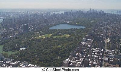 aerial view central park part V