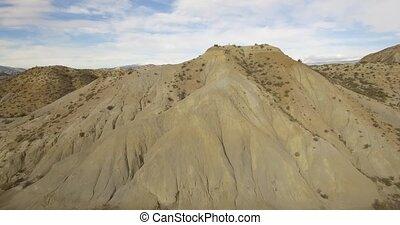 Aerial View in the desert - Sierra Alhamila / Desierto De...