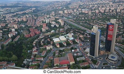 aerial view istanbul