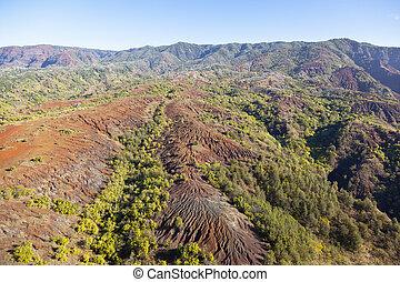 Aerial View, Kauai, Hawaii