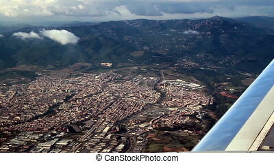 Aerial view of a certain city