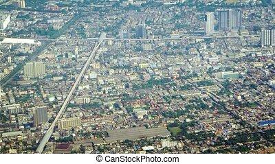 Aerial View of a Major Metropolitan City - Video 1080p -...