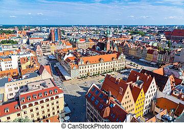 Market Square in Wroclaw
