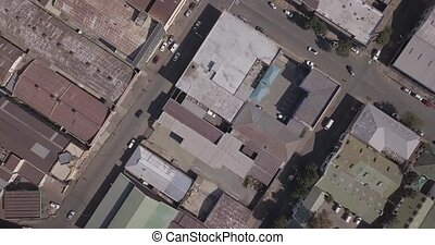 Aerial view of architecture of Johannesburg, South Africa - ...