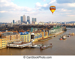 City of London - Aerial view of City of London