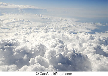Clouds - Aerial View of Clouds