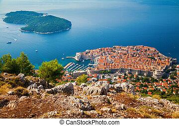 Dubrovnik Old town and Lokrum island