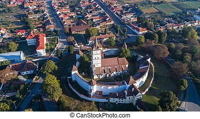 Harman fortified Church. Brasov, Romania