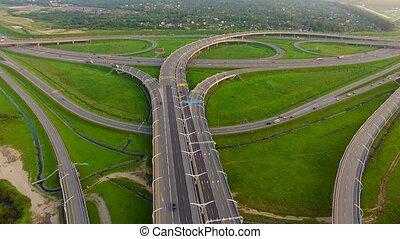 Aerial view of Highway Junction