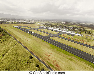 Aerial view of Hilo Airport
