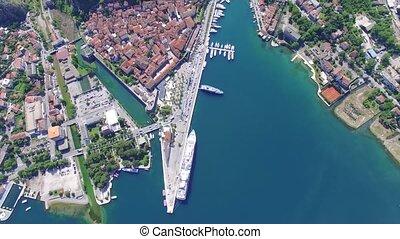 Aerial view of Kotor