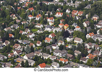 aerial view of living area in Schwalbach