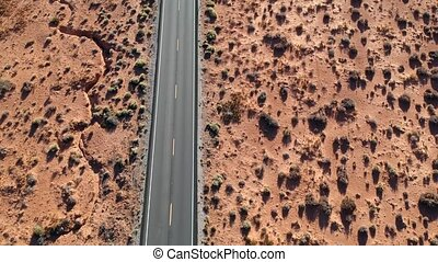 Aerial view of Monument Valley, Arizona, USA - Aerial view...