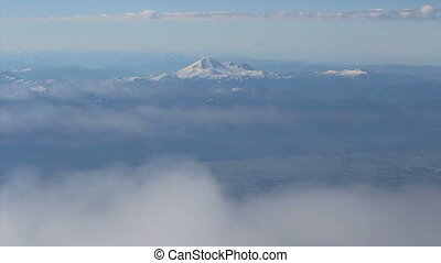 Aerial View Of Mount Baker