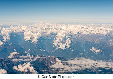 Aerial view of Mountain.