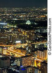 Aerial view of Nagoya