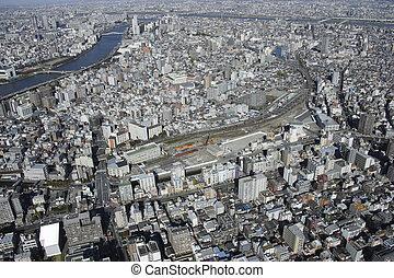 Aerial view of Narihira areas
