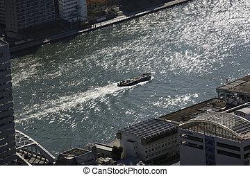 Aerial view of Nihonbashi