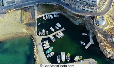 Aerial view of Paros island