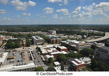 Aerial View of Richmond Virginia
