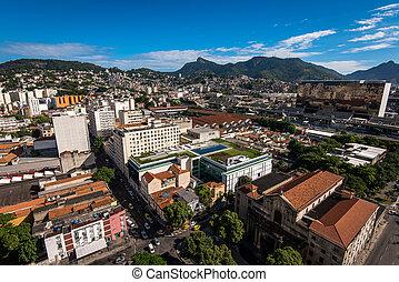 Aerial View of Rio de Janeiro City
