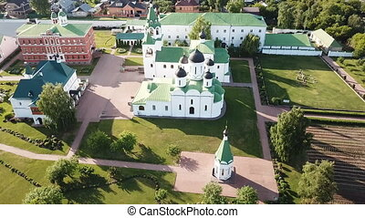 russian landmark Spaso-Preobrazhensky monastery in Murom - ...