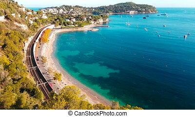 Aerial View of Saint Jean Cap Ferrat