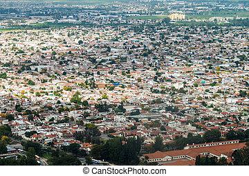 Aerial view of Salta